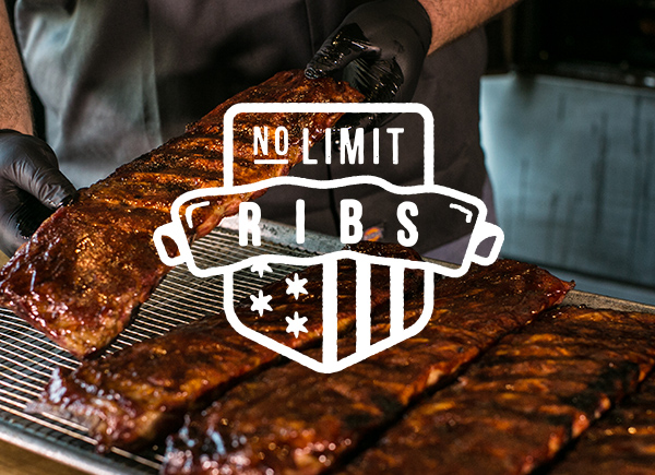 ALL-YOU-CAN-EAT RIBS ARE BACK, AMERICA.